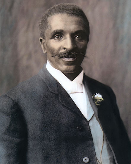 George Washington Carver 8x10 Quot Hand Color Tinted Photo