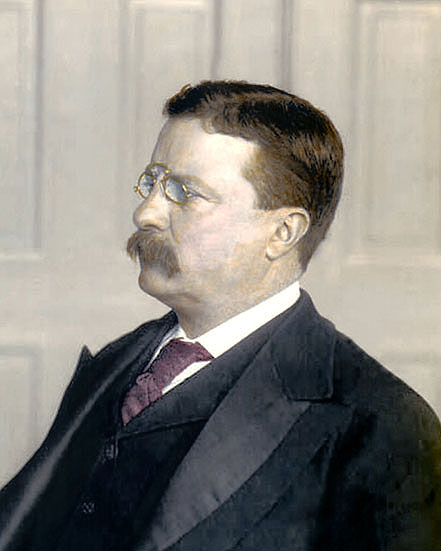 Theodore Roosevelt In Color | www.imgkid.com - The Image ...