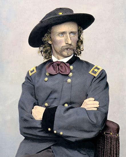 a report on general george armstrong custer Watch video general george armstrong custer's trials historian tj stiles, author of custer's trials: a life on the frontier of a new america, talked about general custer's complicated legacy.
