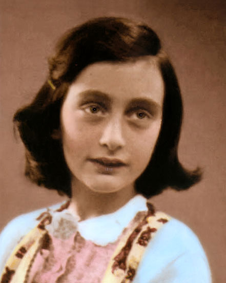 Details about ANNE FRANK 1930s WWII HOLOCAUST VICTIM 8x10